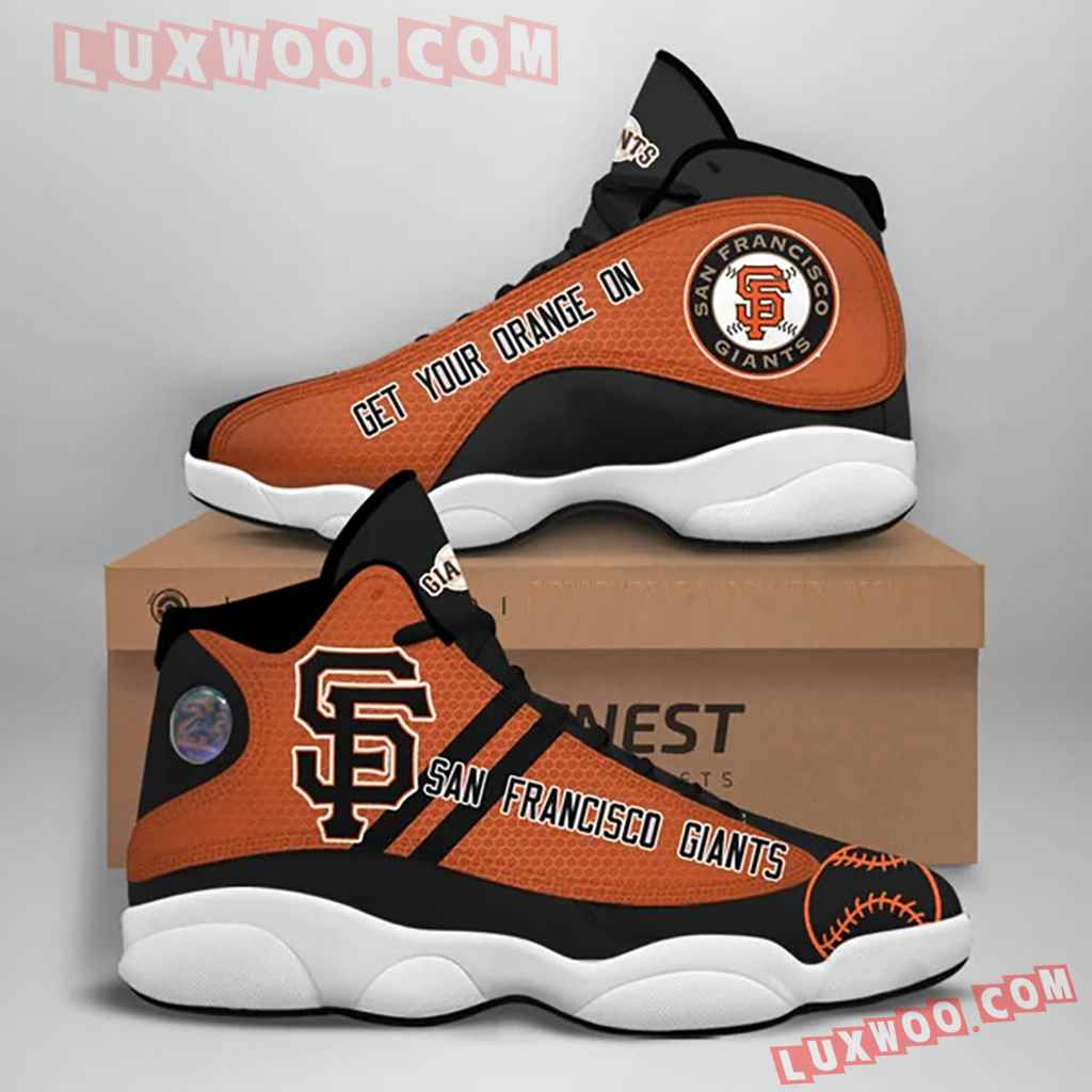 Mlb San Francisco Giants Air Jordan 13 Custom Shoes Sneaker V1
