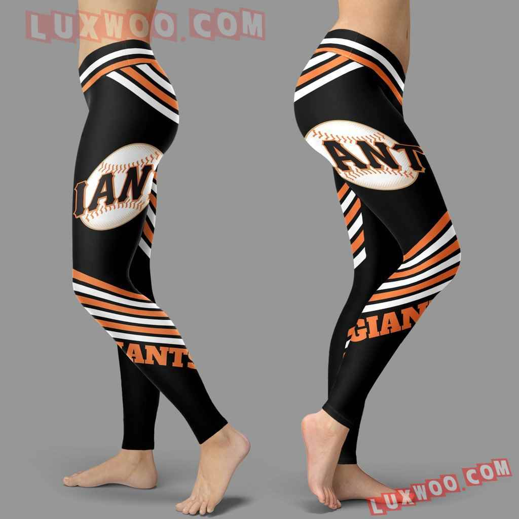 Mlb San Francisco Giants Leggings 3d Custom Print Leggings Sport V2