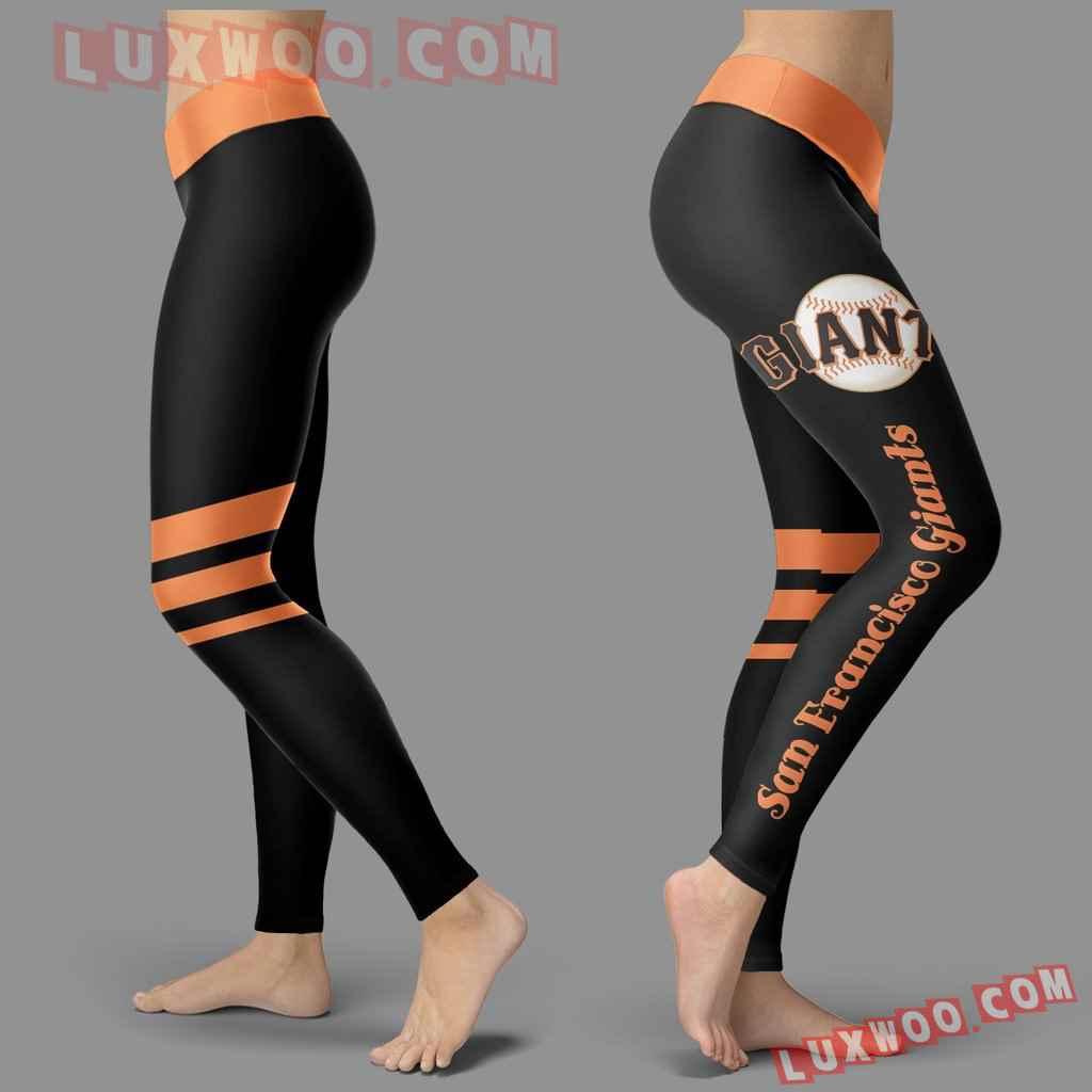 Mlb San Francisco Giants Leggings 3d Custom Print Leggings Sport V3