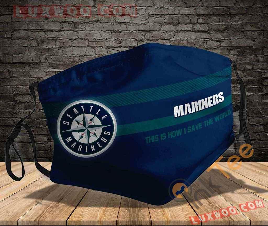 Mlb Seattle Mariners 3d Face Mask V1