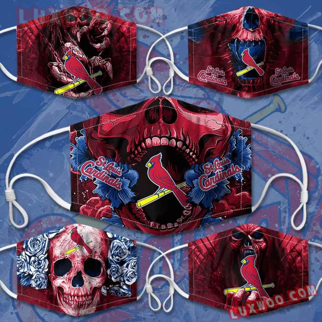Mlb St Louis Cardinals 3d Face Mask Combo 5 V2