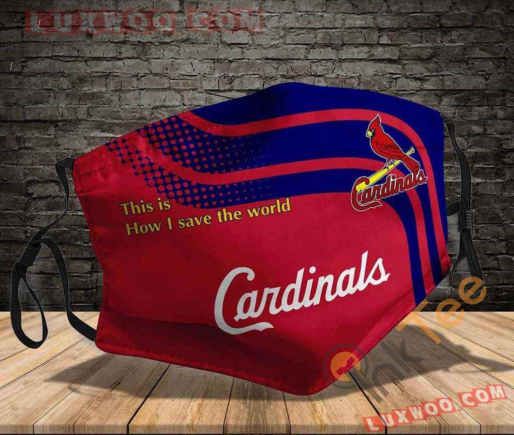 Mlb St Louis Cardinals 3d Face Mask V1