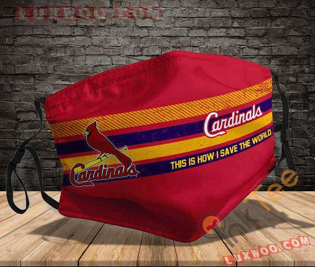 Mlb St Louis Cardinals 3d Face Mask V2
