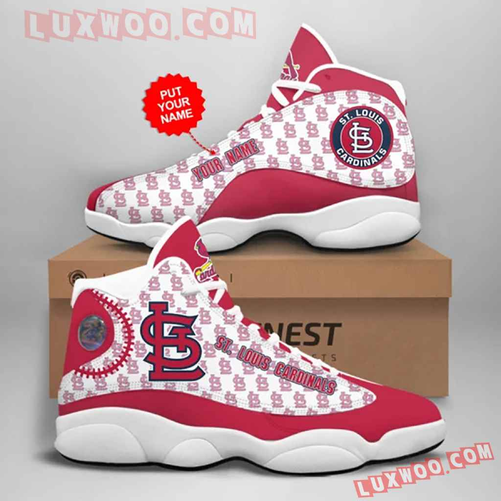 Mlb St Louis Cardinals Air Jordan 13 Custom Shoes Sneaker V1 Personalized