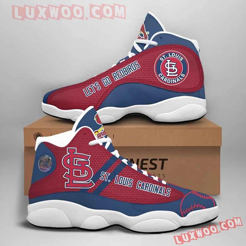 Mlb St Louis Cardinals Air Jordan 13 Custom Shoes Sneaker V1
