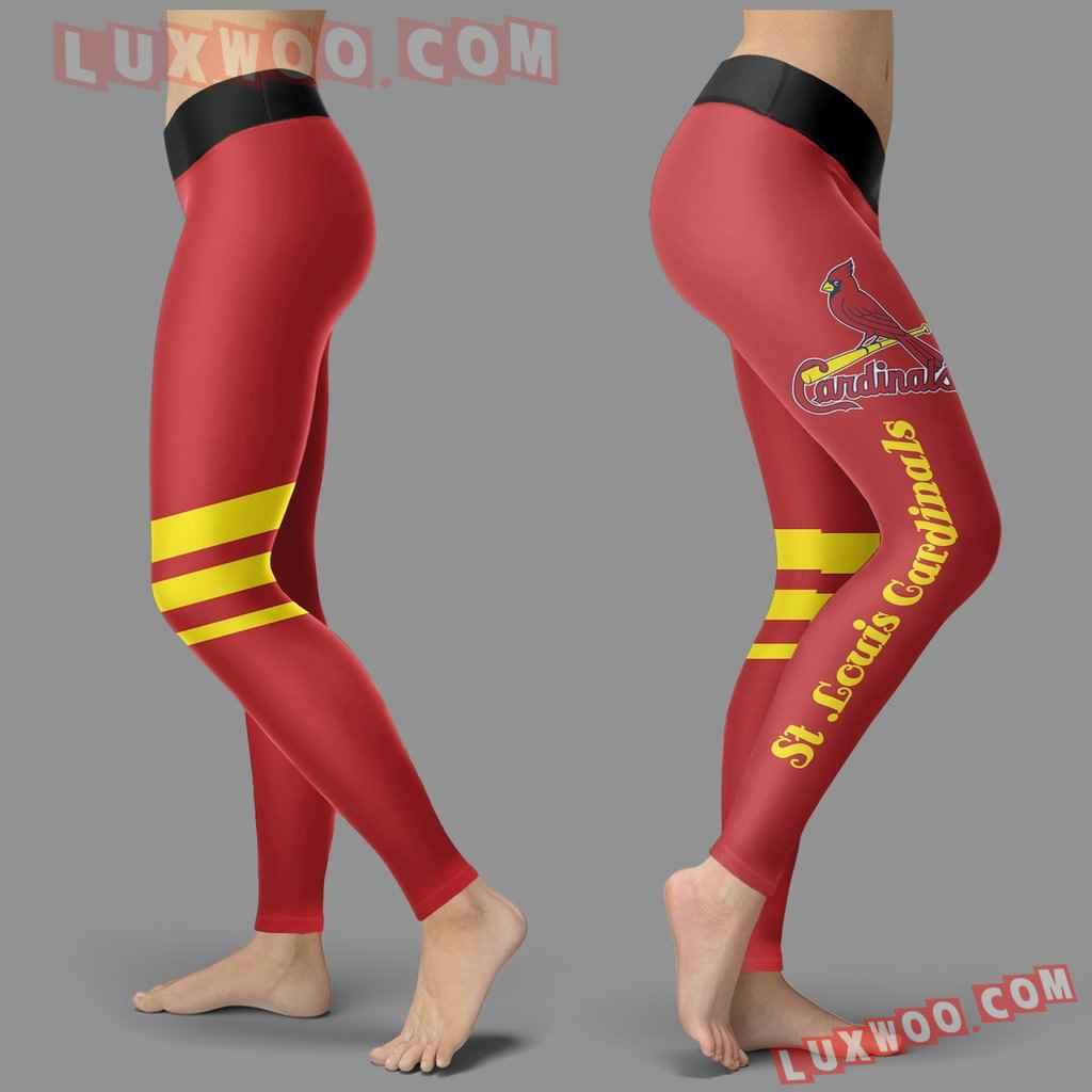 Mlb St Louis Cardinals Leggings 3d Custom Print Leggings Sport V3