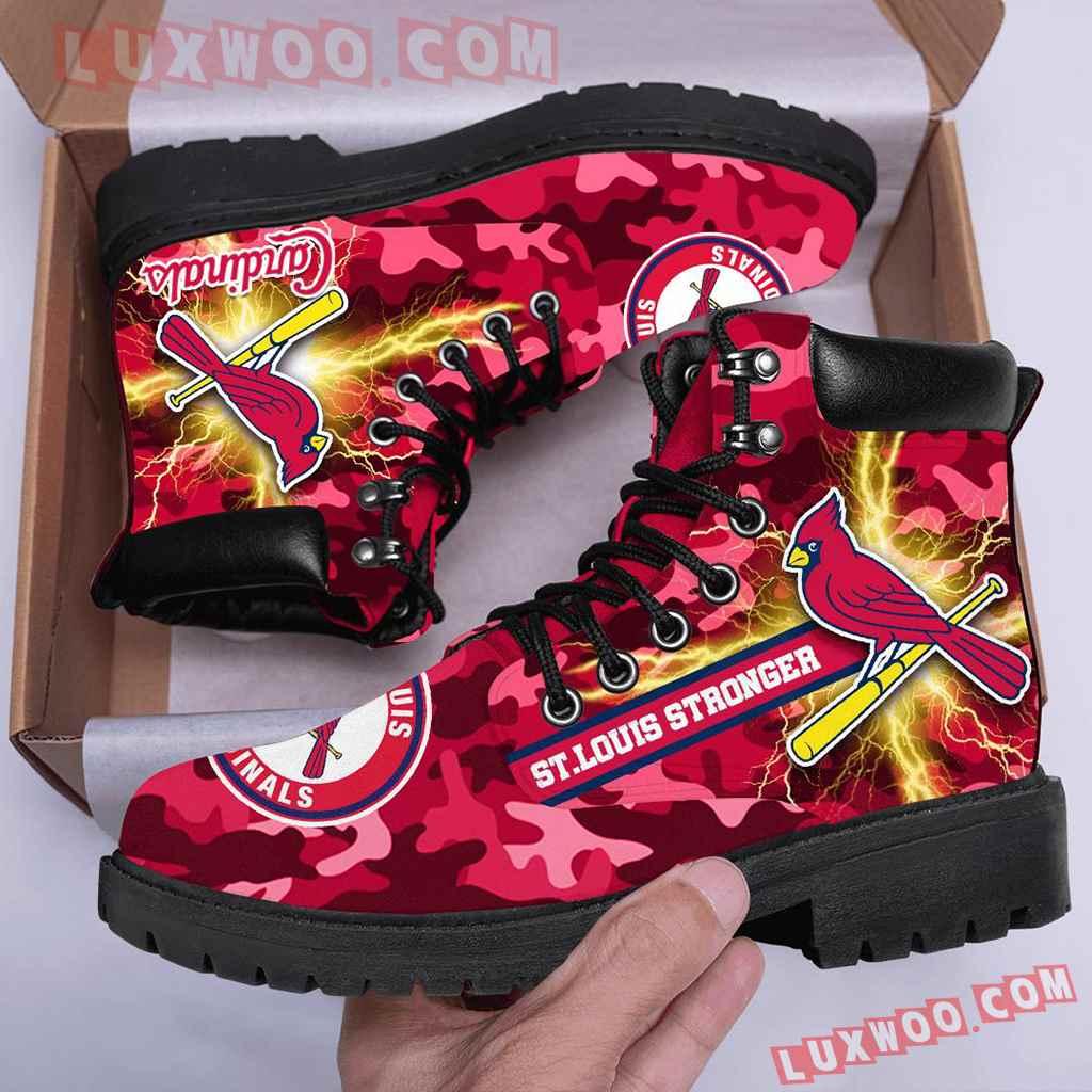 Mlb St Louis Cardinals Season Boots Shoes V1