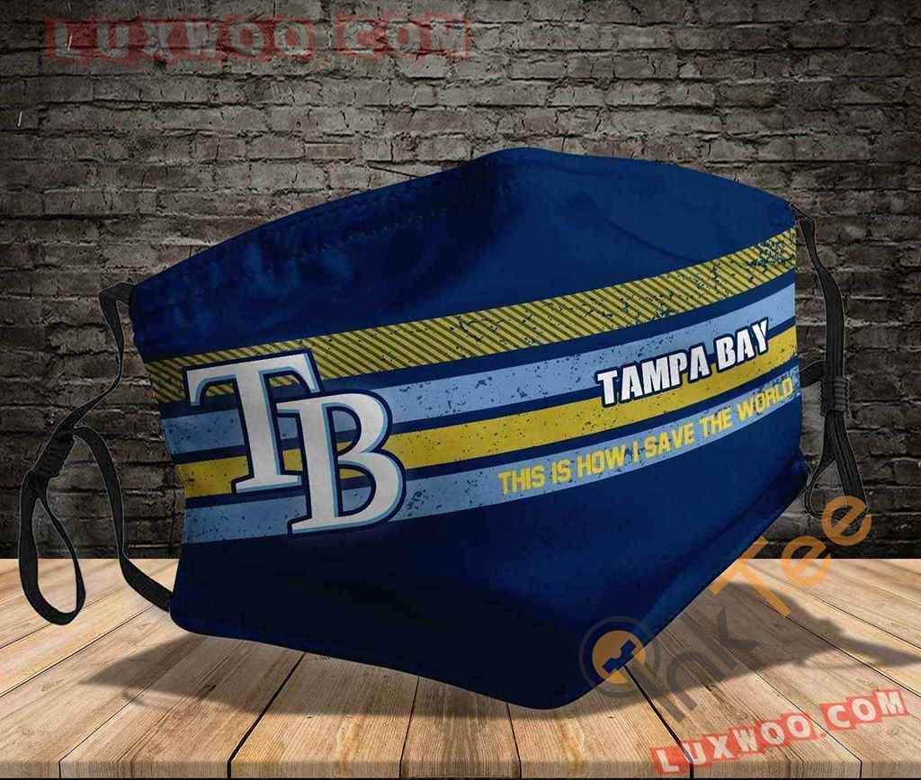 Mlb Tampa Bay Rays 3d Face Mask V2
