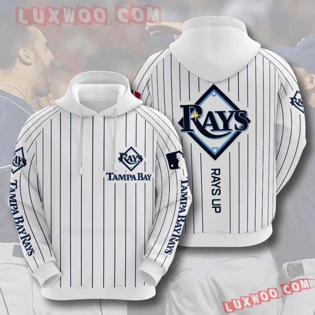 Mlb Tampa Bay Rays 3d Hoodies Printed Zip Hoodies Sweatshirt Jacket V3
