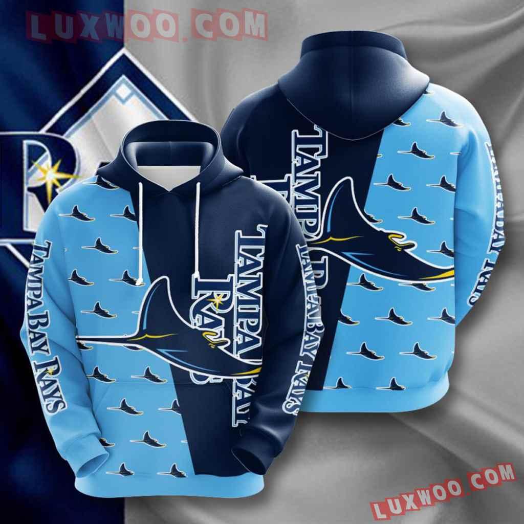 Mlb Tampa Bay Rays 3d Hoodies Printed Zip Hoodies Sweatshirt Jacket V7