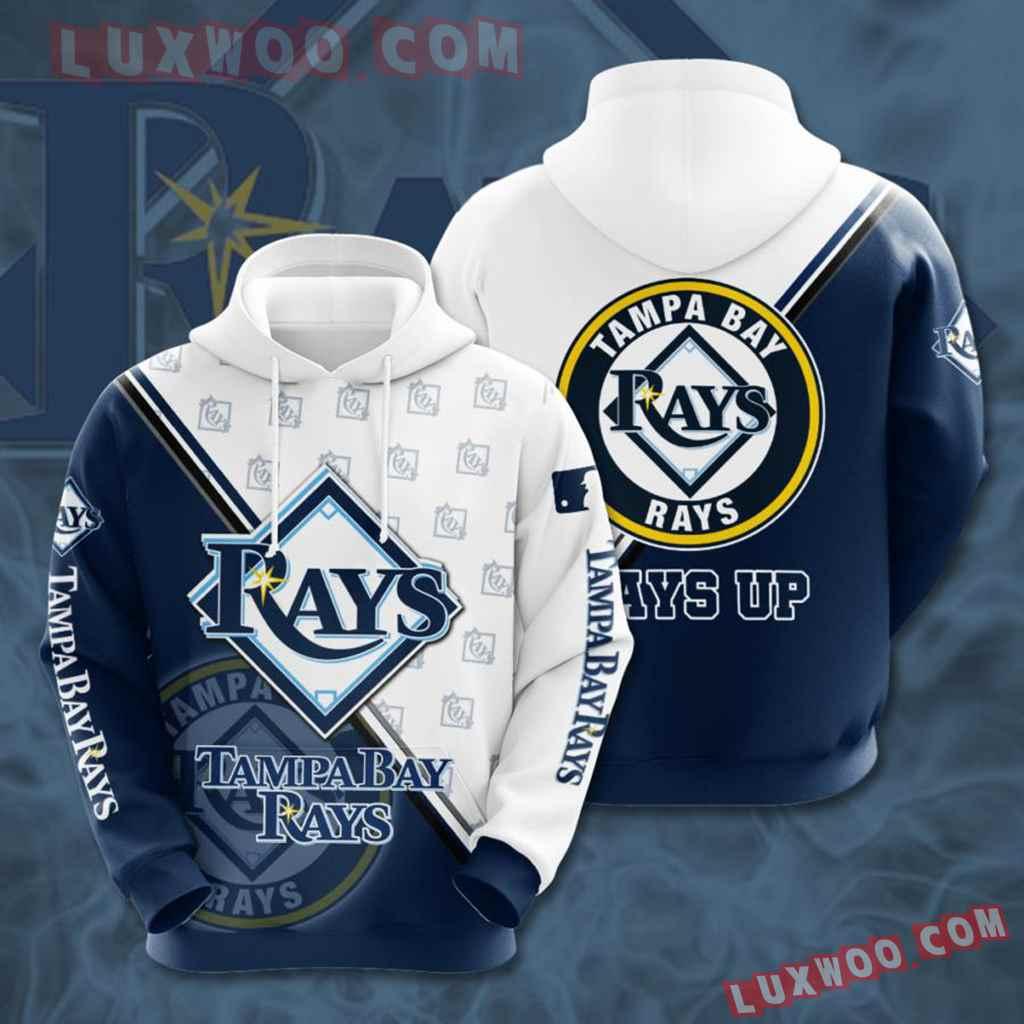 Mlb Tampa Bay Rays 3d Hoodies Printed Zip Hoodies Sweatshirt Jacket V8
