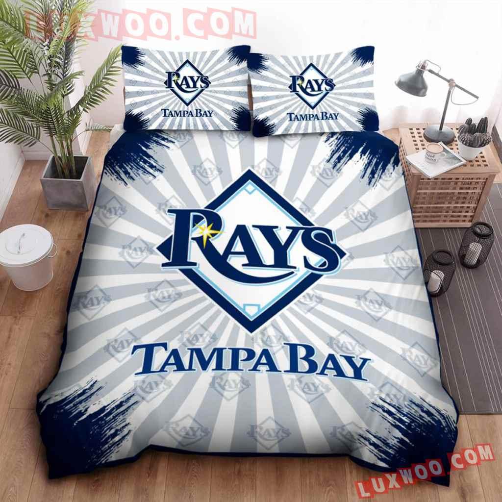 Mlb Tampa Bay Rays 3d Quilt Bedding Set V2
