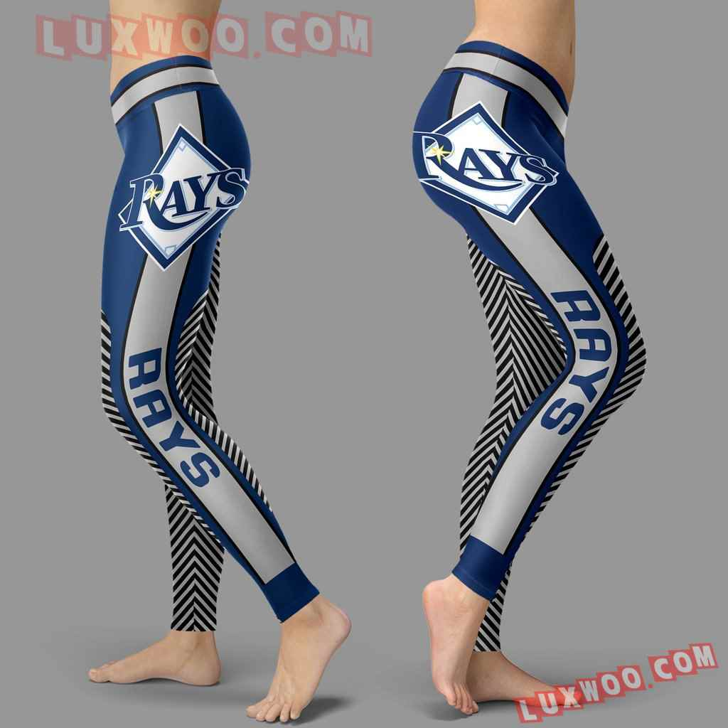 Mlb Tampa Bay Rays Leggings 3d Custom Print Leggings Sport V1