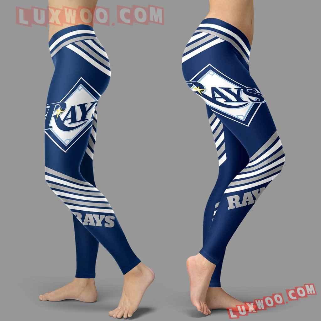 Mlb Tampa Bay Rays Leggings 3d Custom Print Leggings Sport V2