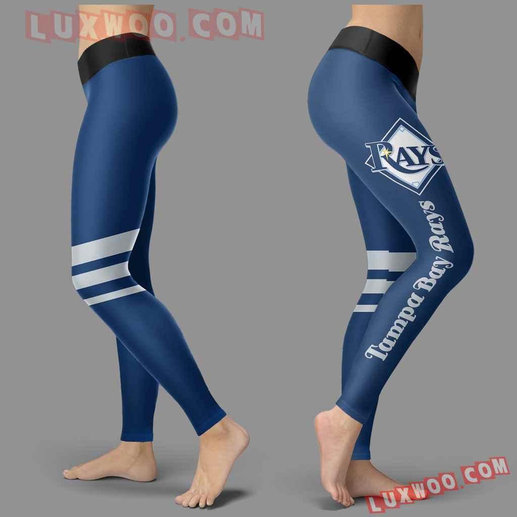 Mlb Tampa Bay Rays Leggings 3d Custom Print Leggings Sport V3