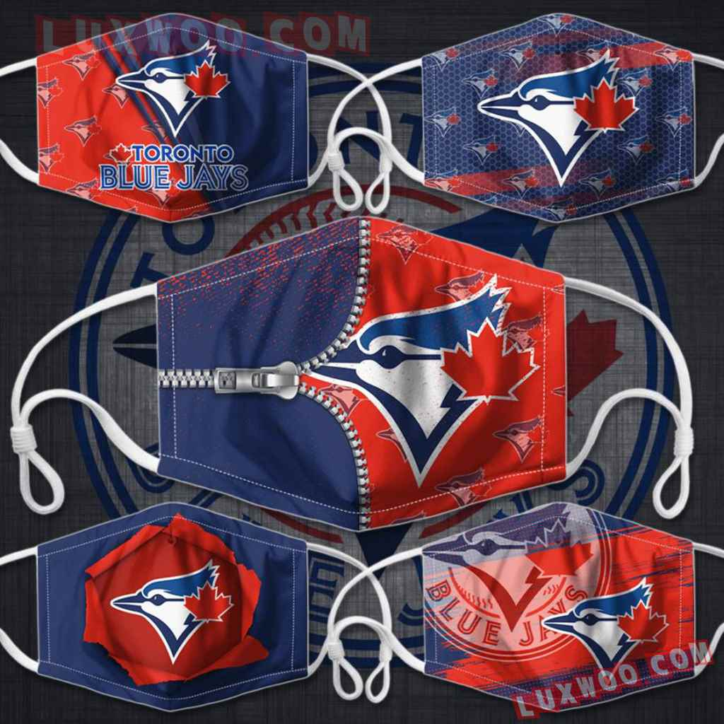 Mlb Toronto Blue Jays 3d Face Mask Combo 5 V1