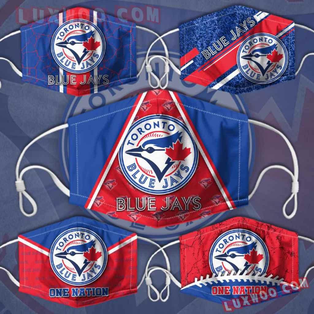 Mlb Toronto Blue Jays 3d Face Mask Combo 5 V2