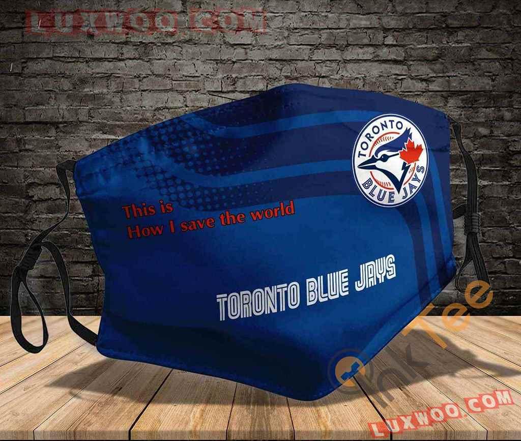 Mlb Toronto Blue Jays 3d Face Mask V1