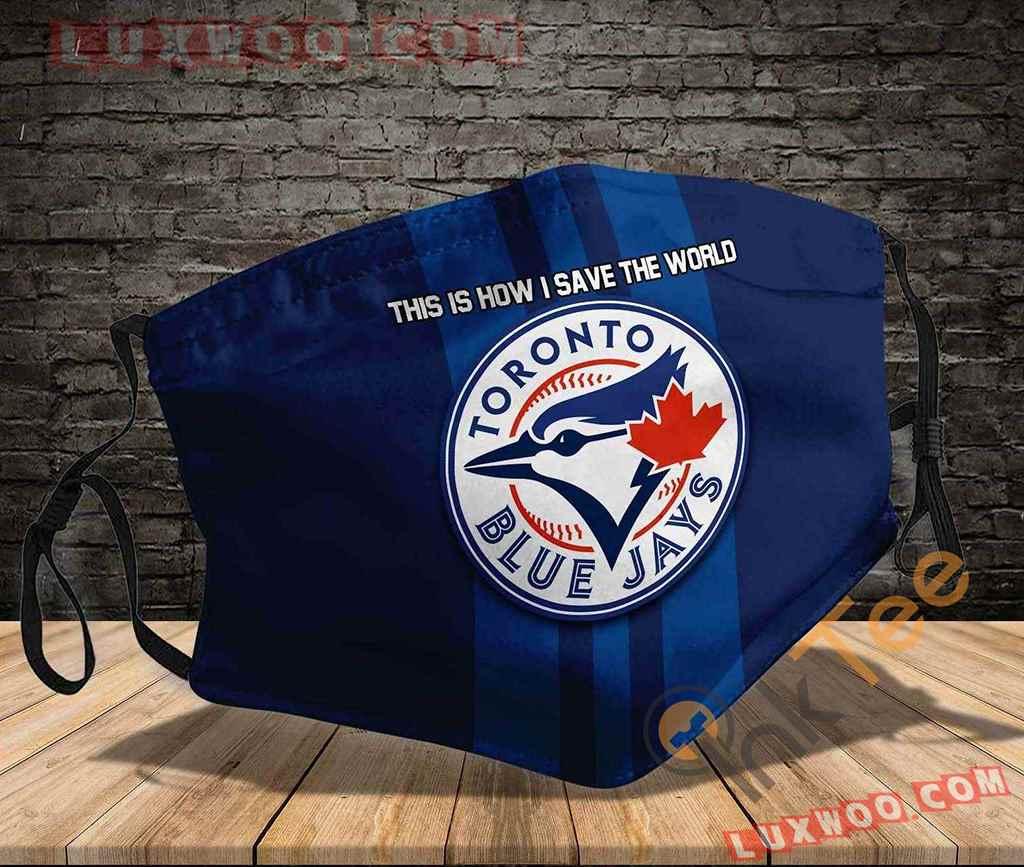 Mlb Toronto Blue Jays 3d Face Mask V3