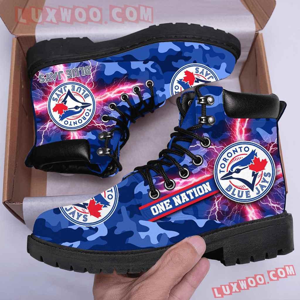 Mlb Toronto Blue Jays Season Boots Shoes V1