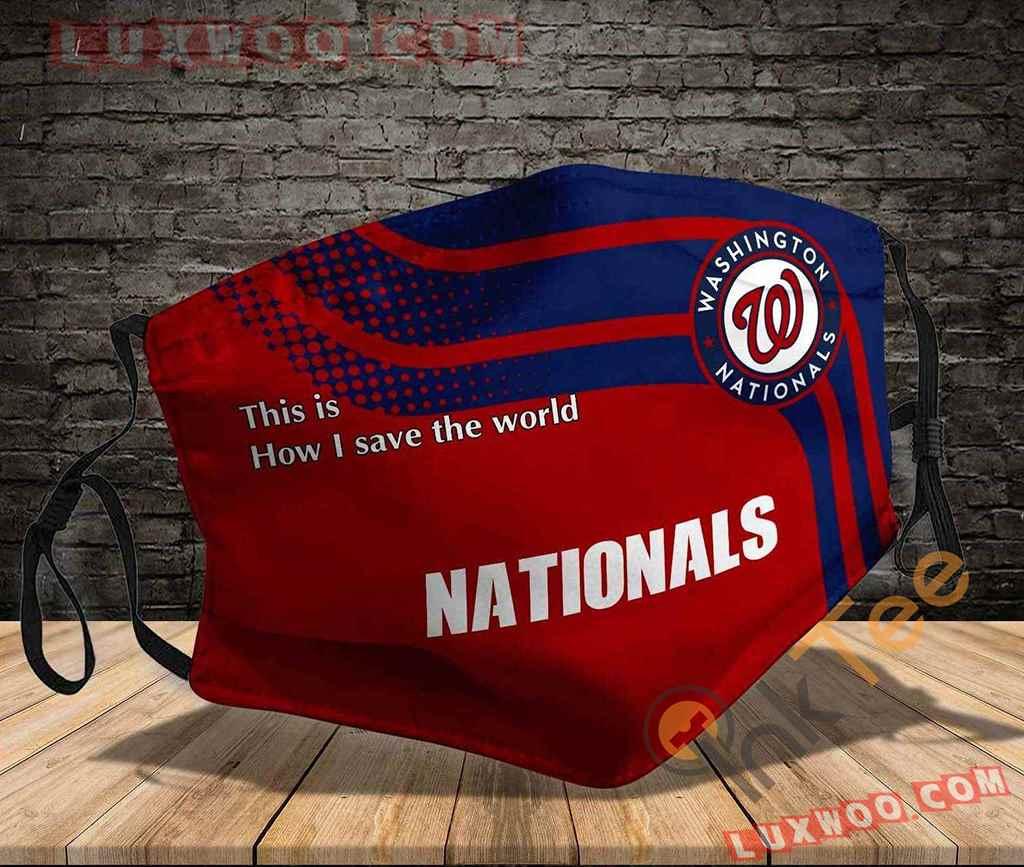 Mlb Washington Nationals 3d Face Mask V1