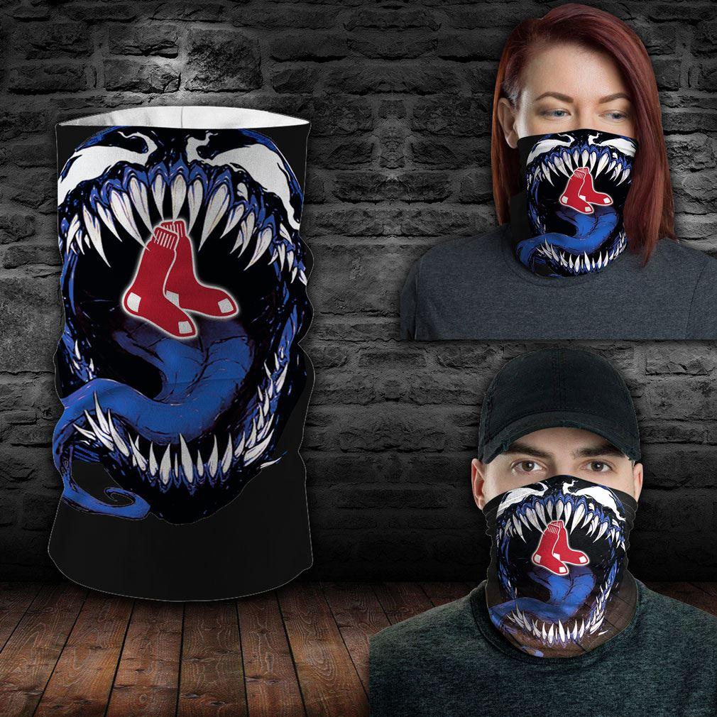 Boston Red Sox Mlb Sport Neck Gaiter Venom Movie Bandana