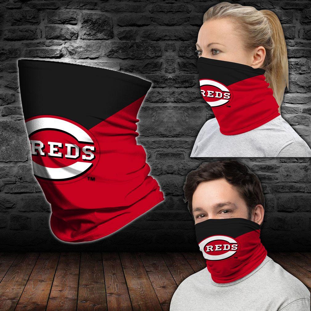 Cincinnati Reds Mlb Sport Neck Gaiter Bandana