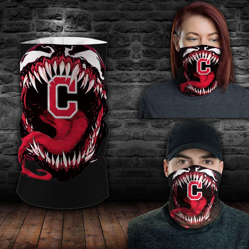 Cleveland Indians Mlb Sport Neck Gaiter Venom Movie Bandana