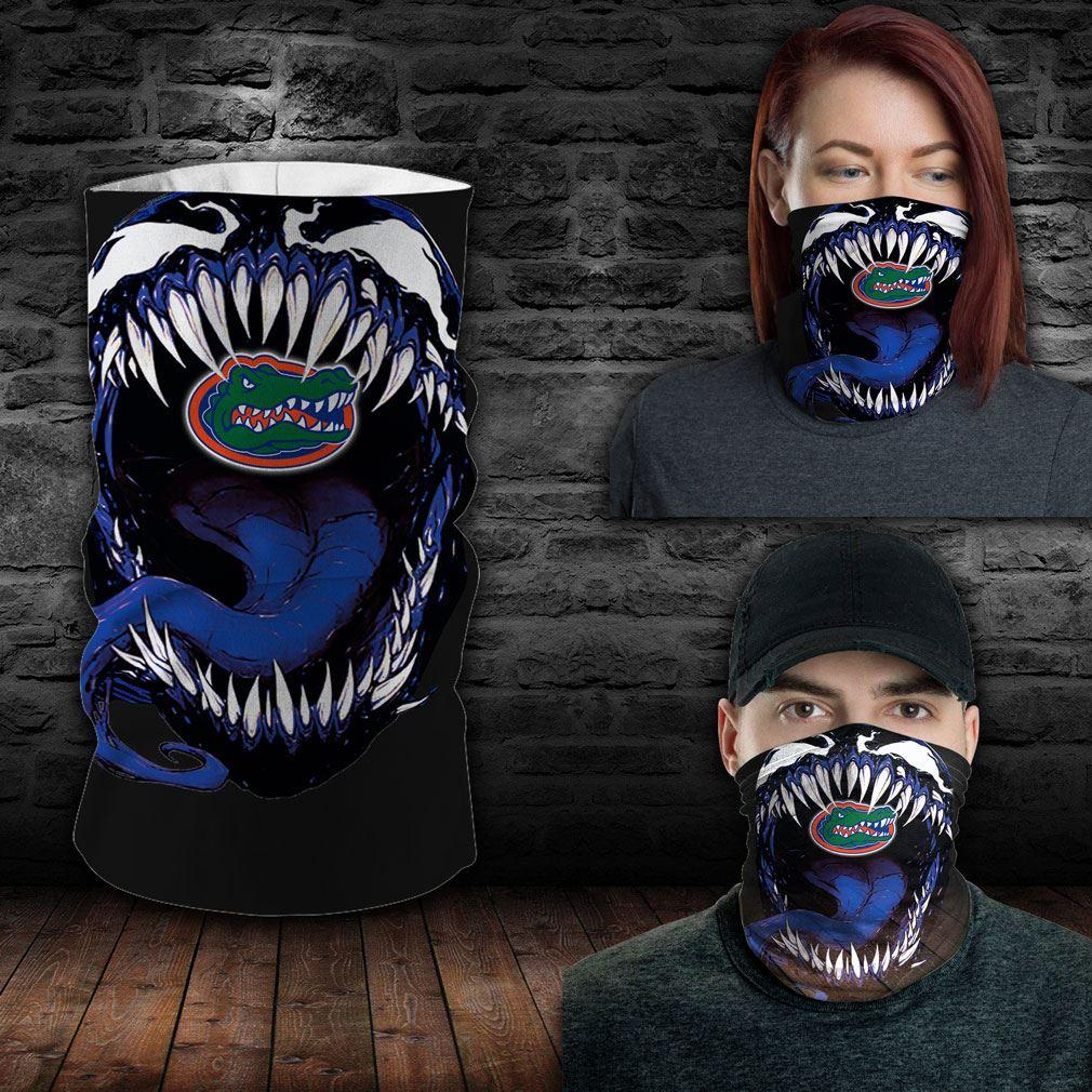 Florida Gators Ncaa Sport Neck Gaiter Venom Movie Bandana