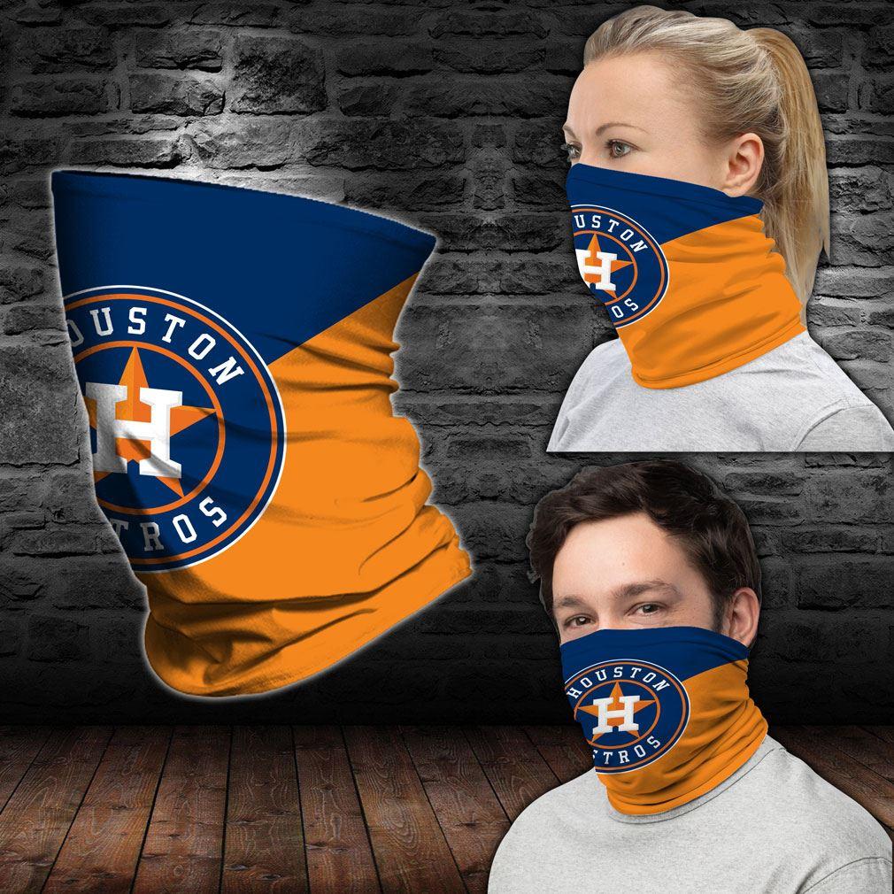 Houston Astros Mlb Sport Neck Gaiter Bandana