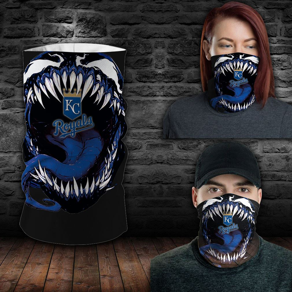 Kansas City Royals Mlb Sport Neck Gaiter Venom Movie Bandana