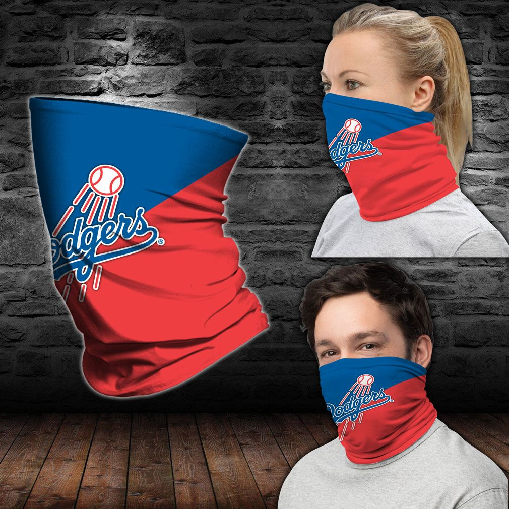 Los Angeles Dodgers Mlb Sport Neck Gaiter Bandana