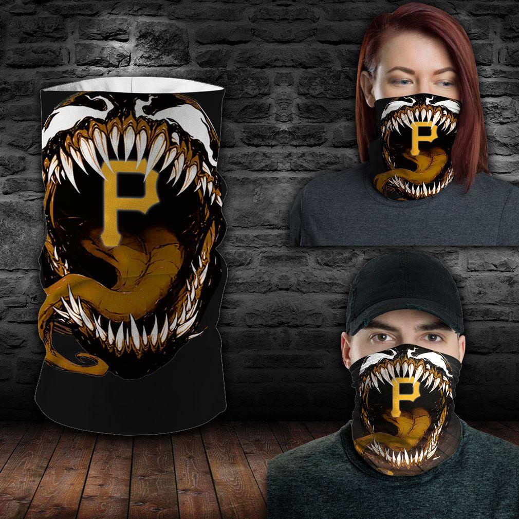 Pittsburgh Pirates Mlb Sport Neck Gaiter Venom Movie Bandana