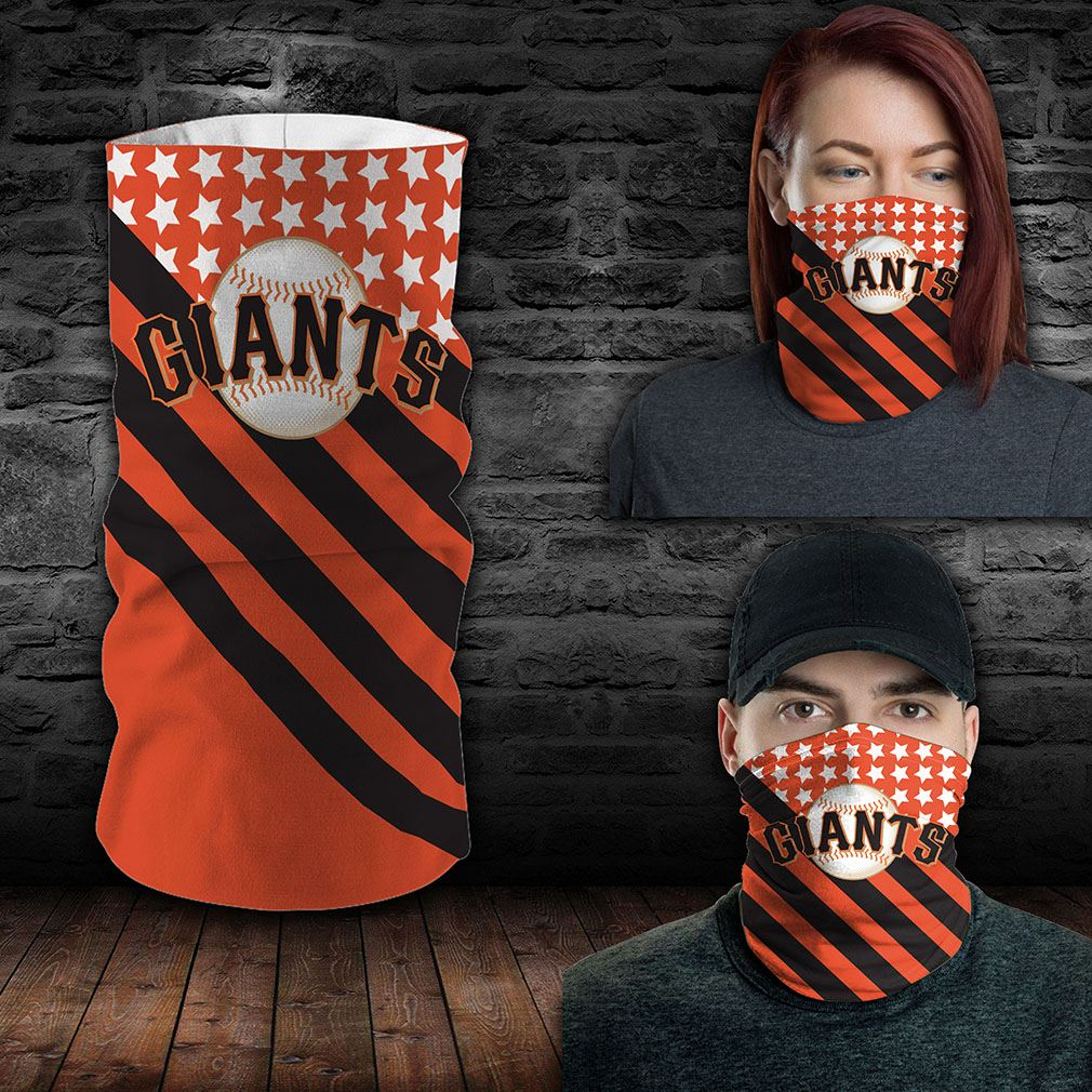 San Francisco Giants Mlb Sport Neck Gaiter Flag America Bandana