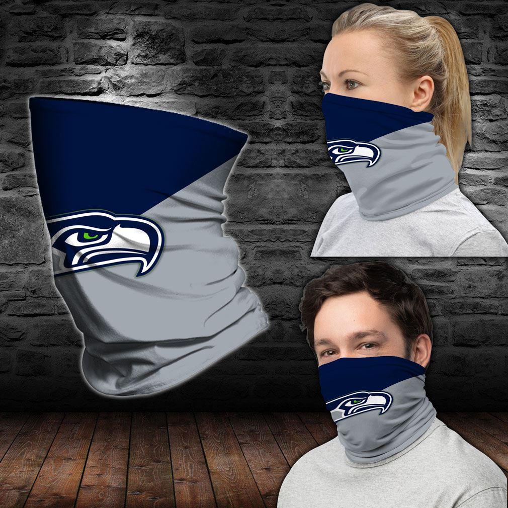 Seattle Seahawks Nfl Sport Neck Gaiter Bandana
