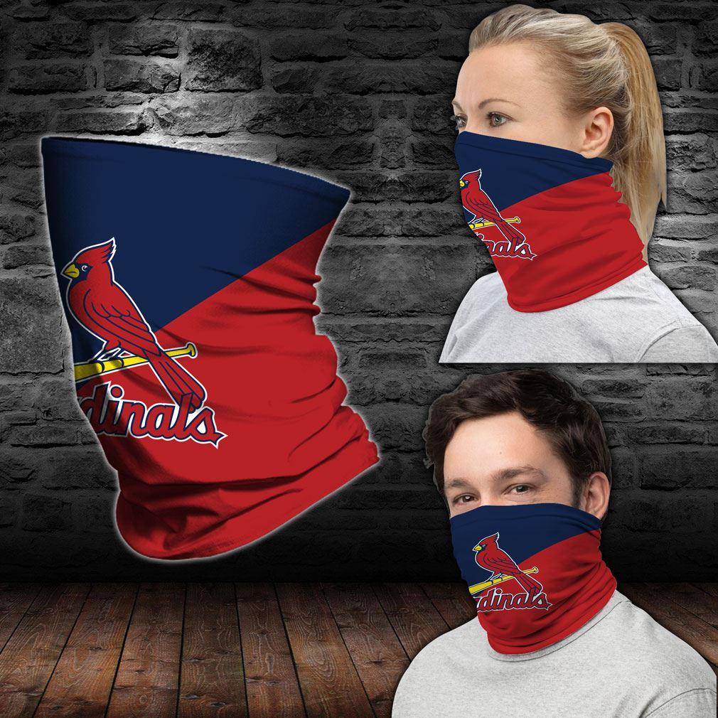 St Louis Cardinals Mlb Sport Neck Gaiter Bandana