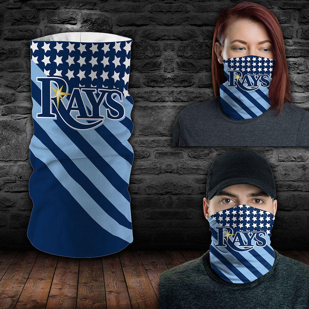 Tampa Bay Rays Mlb Sport Neck Gaiter Flag America Bandana