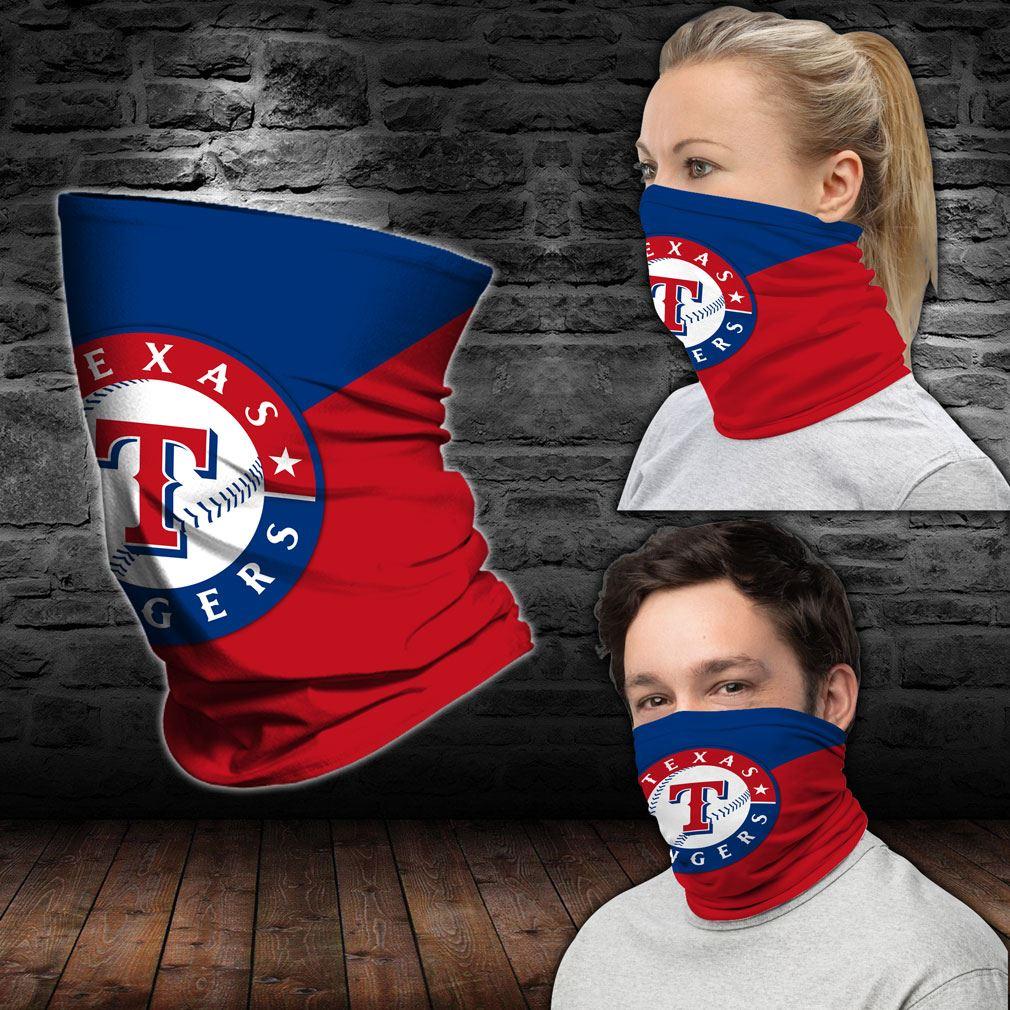 Texas Rangers Mlb Sport Neck Gaiter Bandana