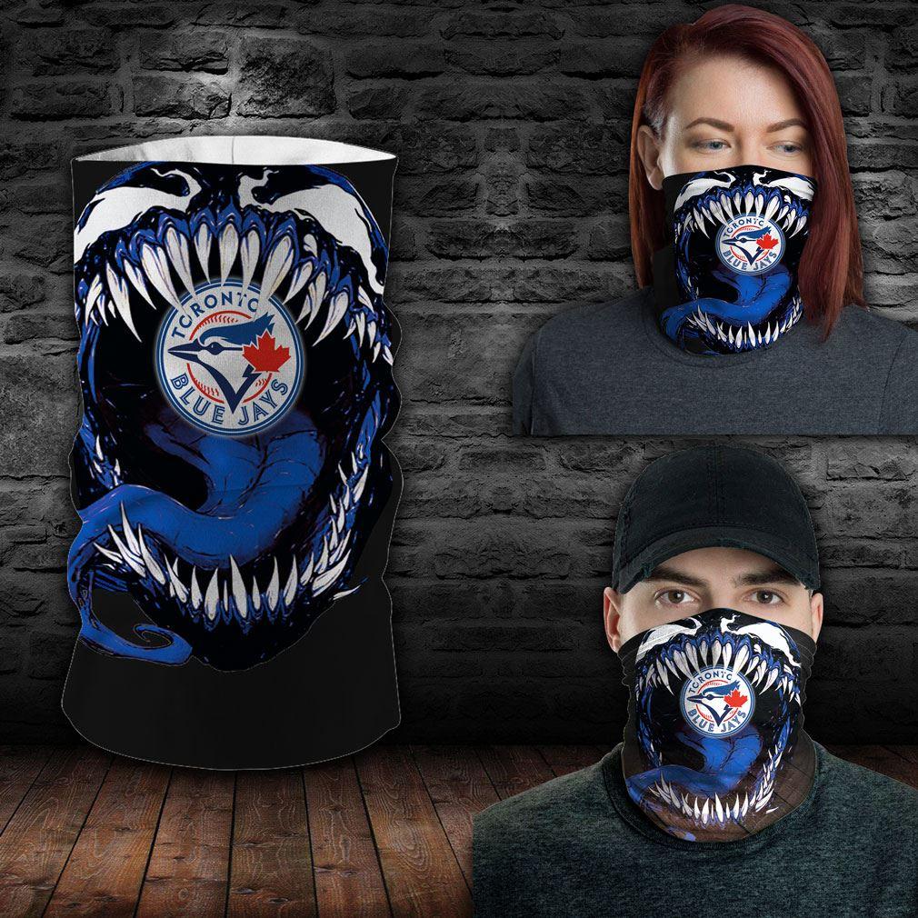 Toronto Blue Jays Mlb Sport Neck Gaiter Venom Movie Bandana