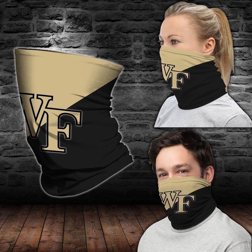 Wake Forest Demon Deacons Ncaa Sport Neck Gaiter Bandana