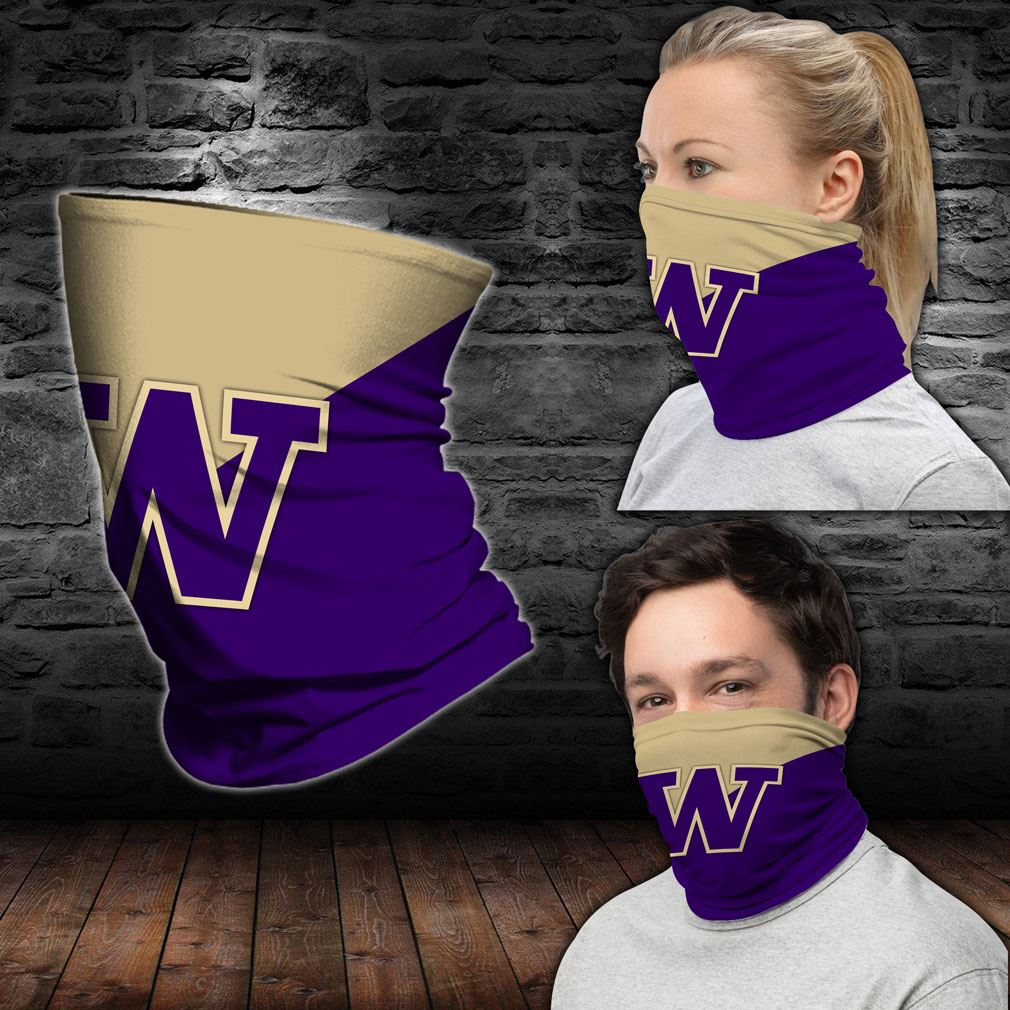 Washington Huskies Ncaa Sport Neck Gaiter Bandana