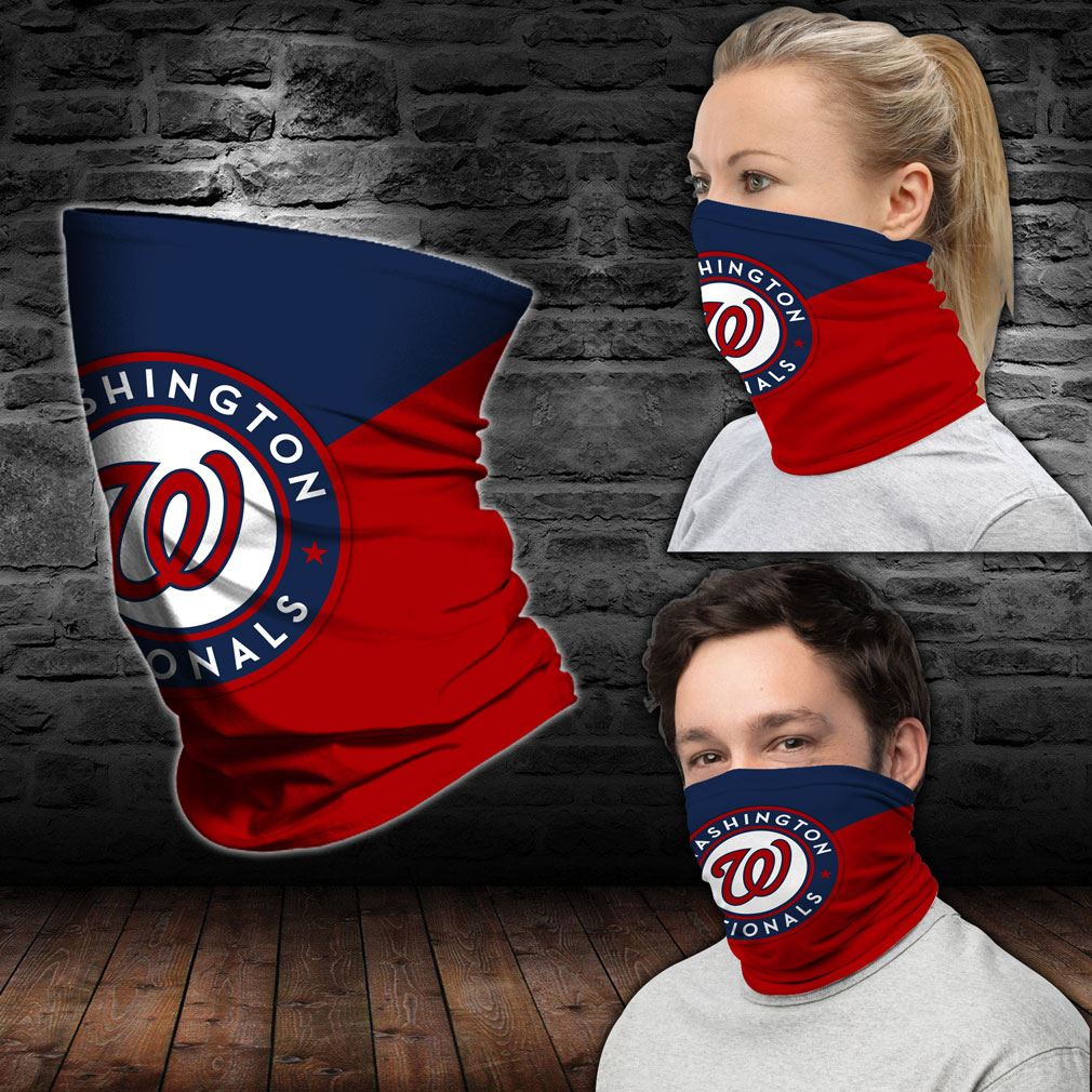 Washington Nationals Mlb Sport Neck Gaiter Bandana