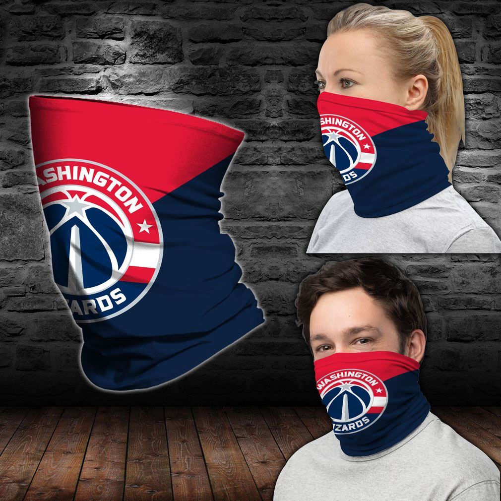 Washington Wizards Nba Sport Neck Gaiter Bandana