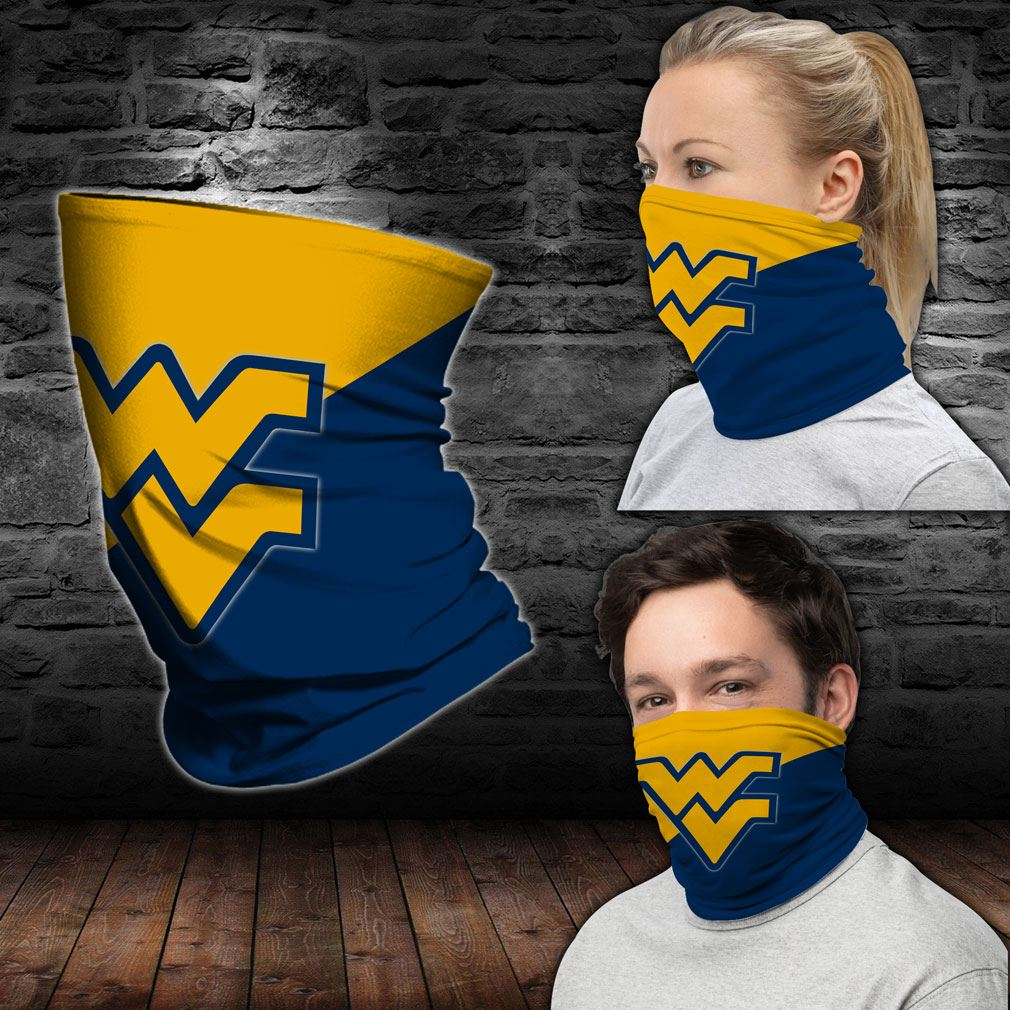 West Virginia Mountaineers Ncaa Sport Neck Gaiter Bandana