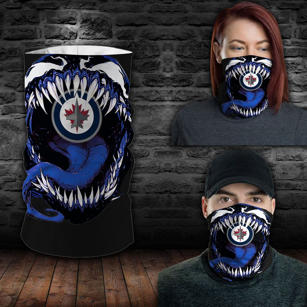 Winnipeg Jets Nhl Sport Neck Gaiter Venom Movie Bandana