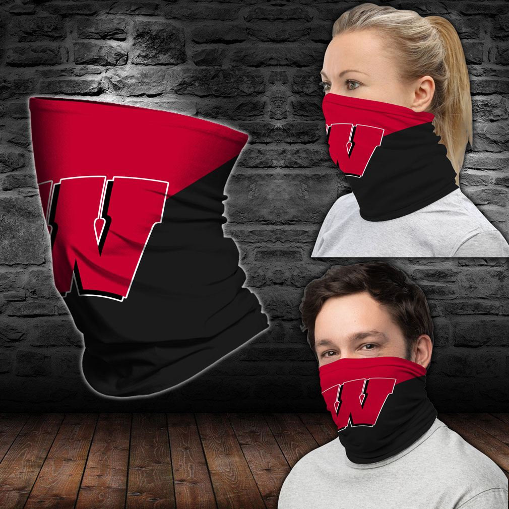 Wisconsin Badgers Ncaa Sport Neck Gaiter Bandana