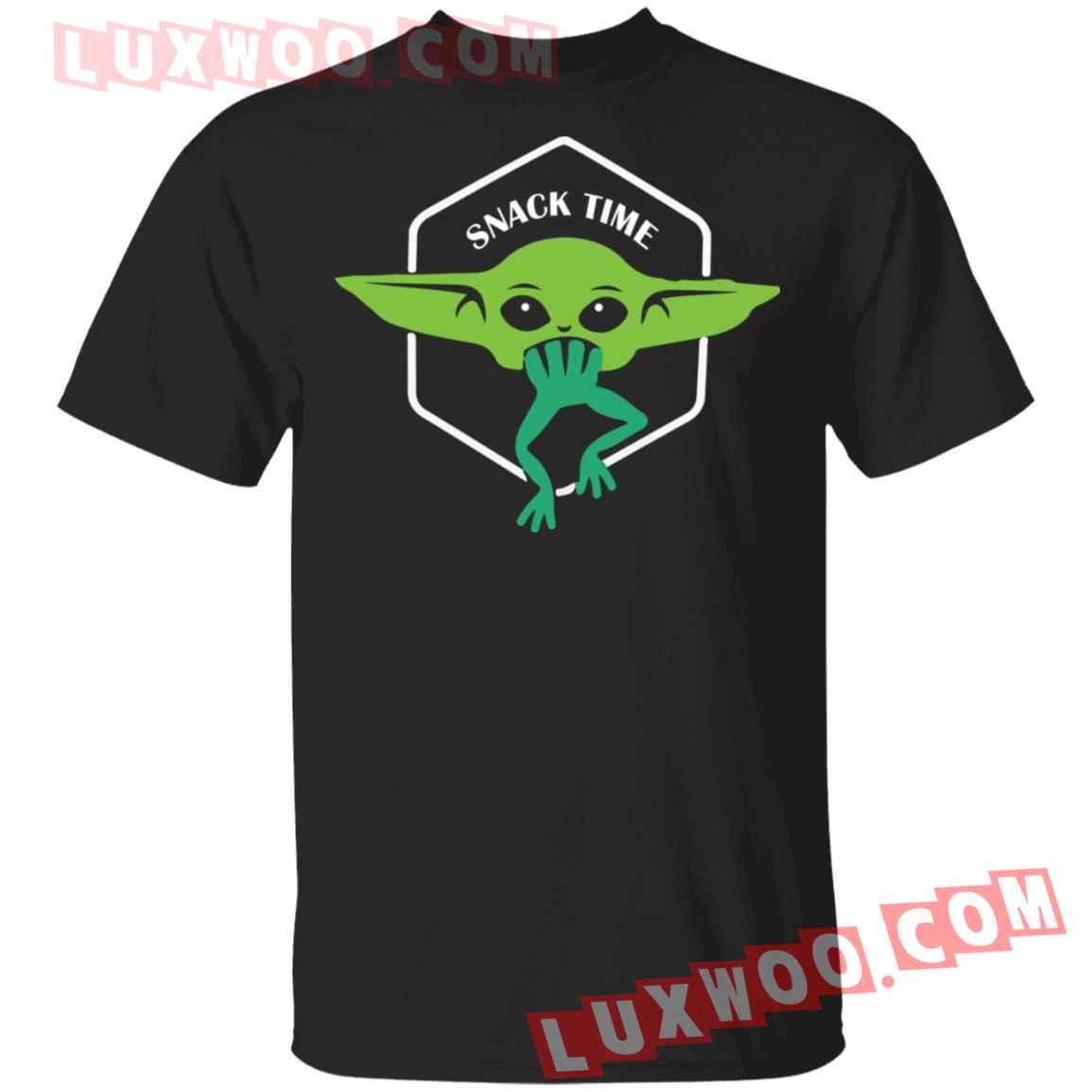 Baby Yoda Snack Time Shirt
