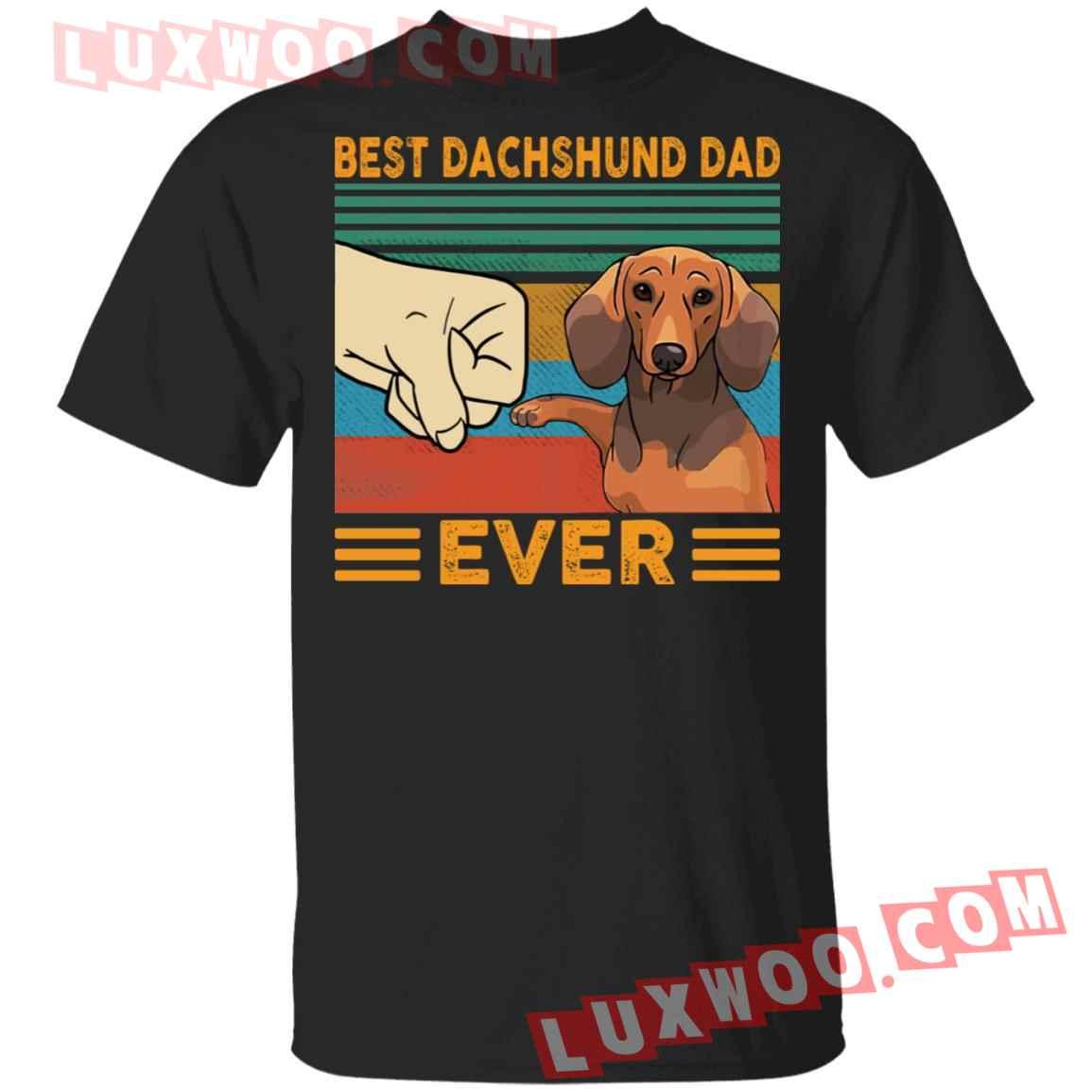 Best Dachshund Dad Ever Shirt