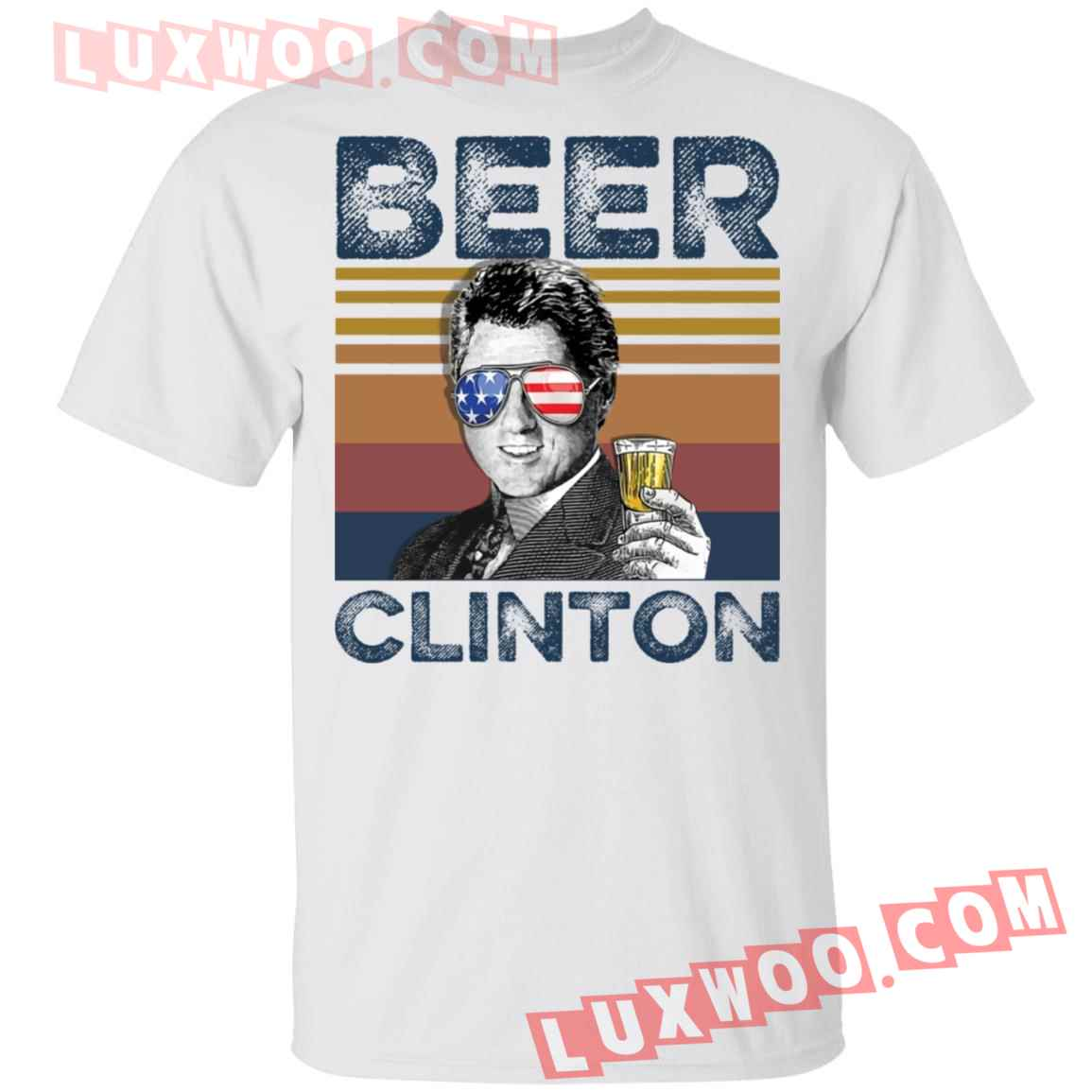 Bill Clinton Beer Clinton Shirt