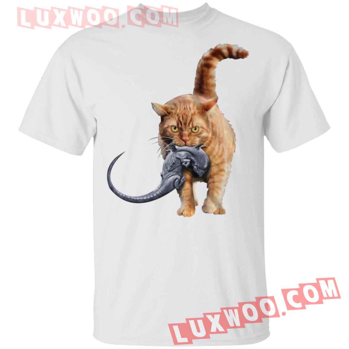 Cat Catches Alien Shirt